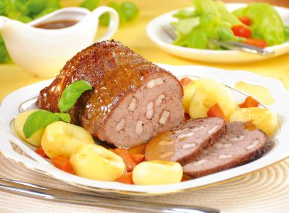 Wołowina z ziemniakami