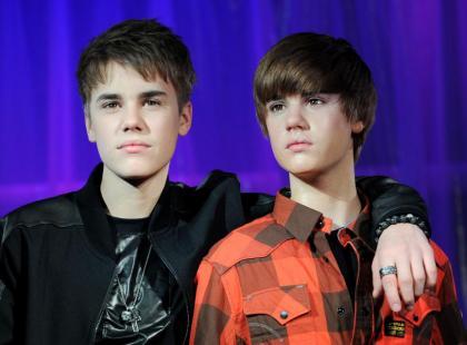 Woskowy Justin Bieber
