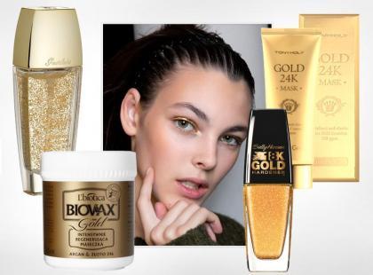 WOW! Boskie kosmetyki z prawdziwym złotem!