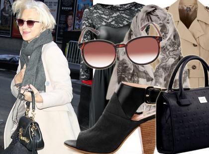 Wow! Helen Mirren, czyli stylowa kobieta po 60-tce