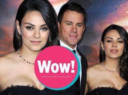 Wow! Mila Kunis zachwyciła! Pierwszy raz na czerwonym dywanie po porodzie