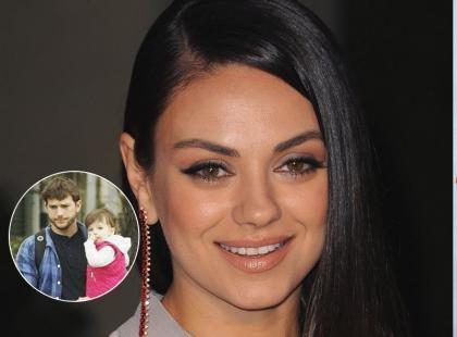 Wow! Pierwsze tak urocze zdjęcia córki Kunis i Kutchera