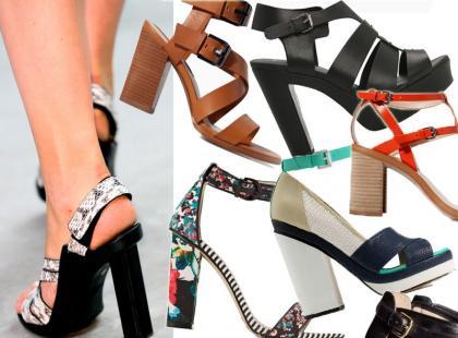 Wow! Przegląd wiosennych sandałków na słupku