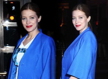 Wow! Stylowa Ada Fijał w bieli i niebieskościach