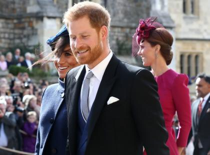 Wpadka Meghan Markle na ślubie księżniczki Eugenii? Ignorowała prośbę panny młodej!