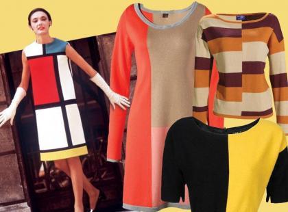 Wraca moda na Mondriana