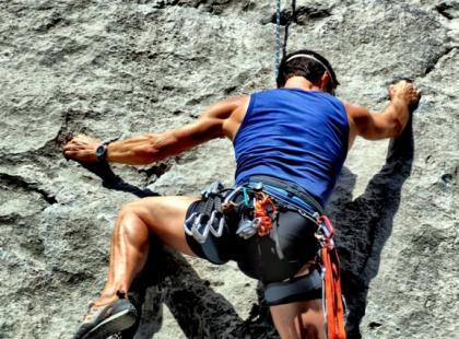 Wspinaczka – problemy zostaw na dole