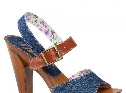 Wszechobecny dżins - tym razem na butach z wiosennych kolekcji
