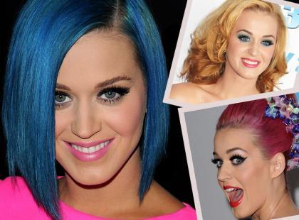 Wszystkie kolory włosów Katy Perry