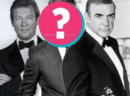 Wszystkie twarze Jamesa Bonda