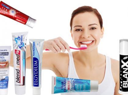 Wybielające pasty do zębów [zestawienie]