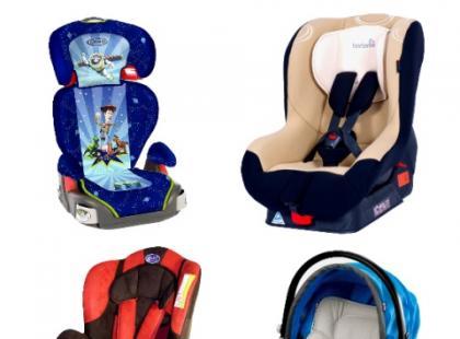 Wybieramy fotelik samochodowy dla dziecka - galeria