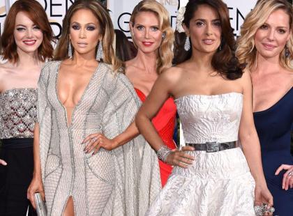 Wybieramy najlepiej ubraną gwiazdę Złotych Globów 2015