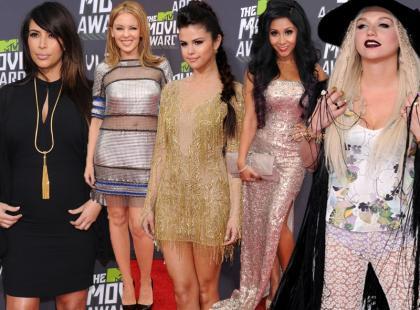 Wybieramy najlepiej ubrane gwiazdy MTV Movie Awards 2013