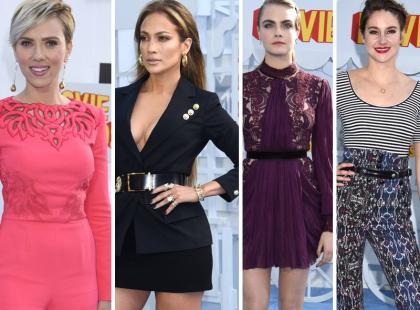 Wybieramy najlepiej ubrane gwiazdy MTV Movie Awards 2015