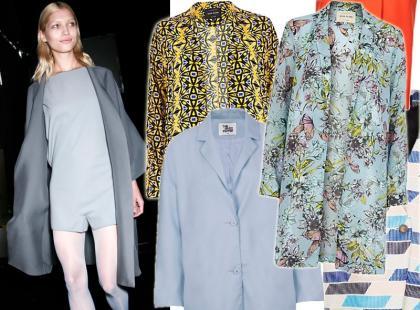 Wybór fashionistki: cienki płaszcz na lato 2014