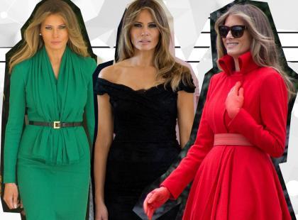 Wybór redakcji: 6 najlepszych stylizacji Melanii Trump