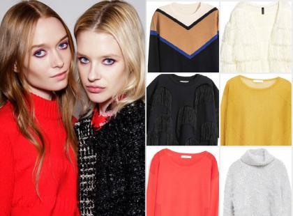 Wybrałyśmy 15 stylowych swetrów z najnowszych kolekcji