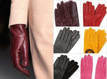 Wybrałyśmy 18 par skórzanych rękawiczek na jesienne chłody
