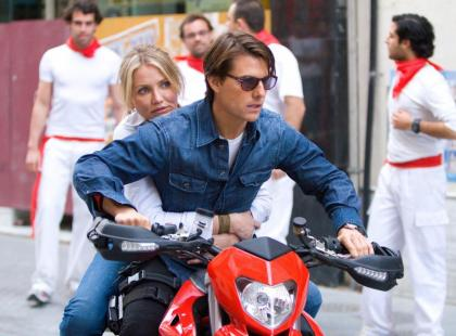Wybuchowa para: Cameron Diaz i Tom Cruise