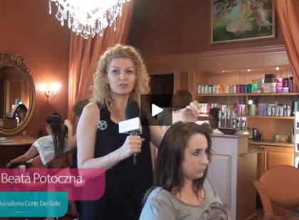 Wygładzanie stojących włosów po modelowaniu [video]