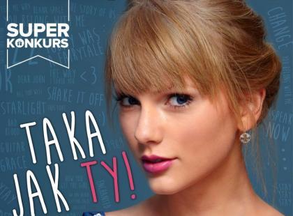 Wygraj biografię Taylor Swift na Instagramie