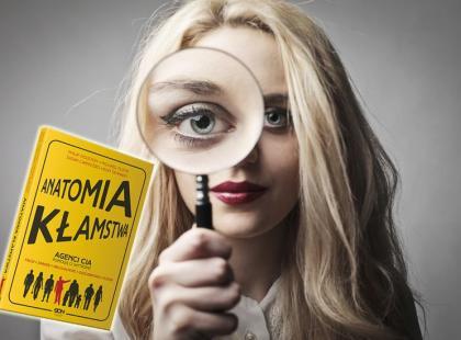 """Wygraj książkę """"Anatomia kłamstwa""""! - WYNIKI"""