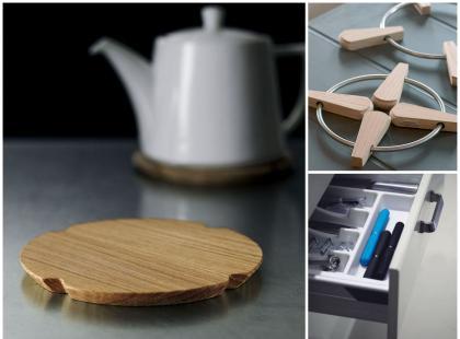 Wymyślne podstawki pod gorące naczynia
