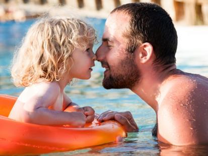 Wyprawa na basen z maluszkiem