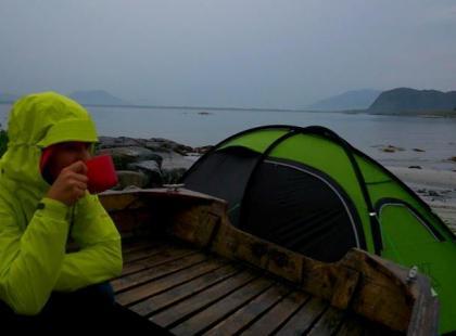 """Wyprawy rowerowe – spanie """"na dziko"""" w Norwegii"""