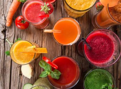 Wypróbuj warzywne soki oczyszczające organizm z toksyn!