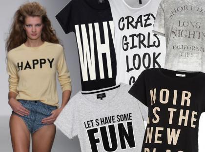 Wyraź siebie! Koszulki z zabawnymi napisami