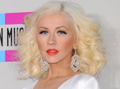 Wyretuszowane Christina Aguilera i jej córeczka na okładce magazynu