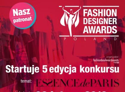 Wystartowała 5. edycja Konkursu Fashion Designer Awards