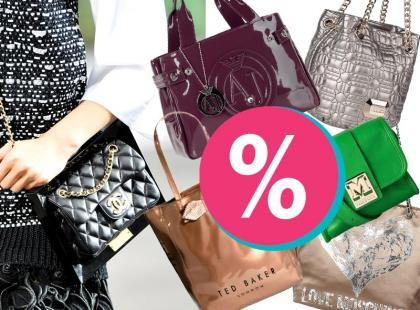 Wyszukałyśmy: markowe torebki do 70% taniej