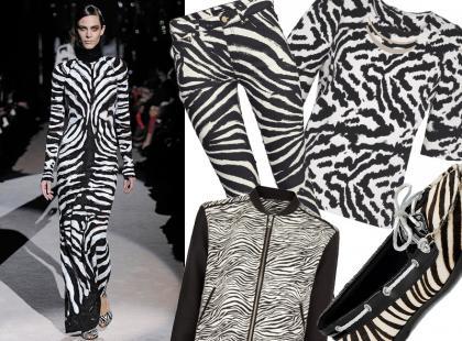 Wyszukałyśmy: super modne ubrania i dodatki w zebrowy wzór