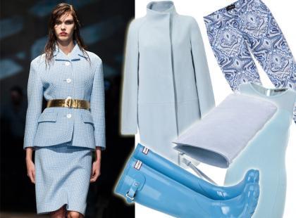 Wyszukałyśmy: ubrania i dodatki w modnym na jesień błękicie