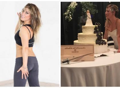 Wzięła ślub ze samą sobą, bo chciała mieć pewność, że nikt jej nie zrani! Zobacz zdjęcia z te niezwykłej uroczystości!