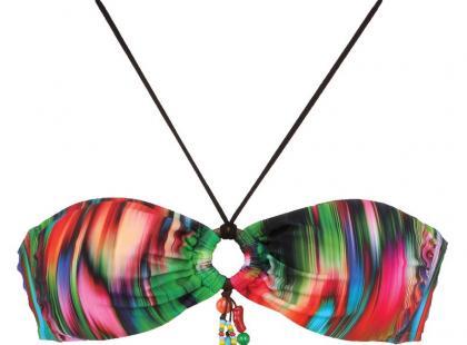 Wzorzyste bikini - trendy na wiosnę i lato 2012