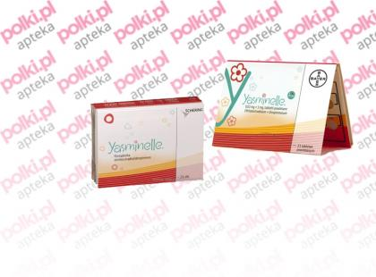 Yasminelle - tabletki antykoncepcyjne