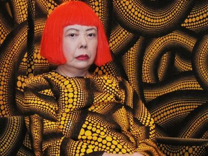 Yayoi Kusama - od lat mieszka w szpitalu psychiatrycznym i tworzy. Jej obrazy są warte miliony dolarów!