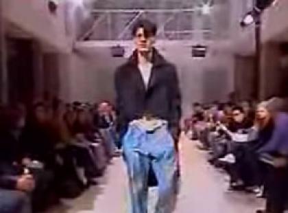 Yohji Yamamoto Pour Homme - kolekcja wiosna/lato 2008