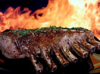 Z czego słynie Patagonia -  przyrządzanie mięsa