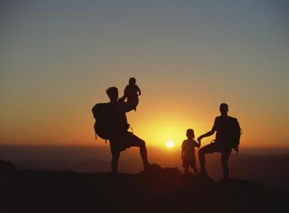 Z małym dzieckiem w górach
