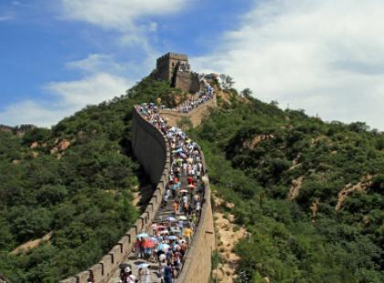 Z milionem Chińczyków na pewnym Wielkim Murze, czyli… jak zostać bohaterem?