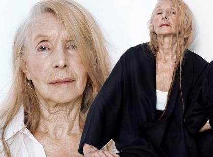 Z polską metką: stylowa 80-latka w nowej kampanii Nenukko