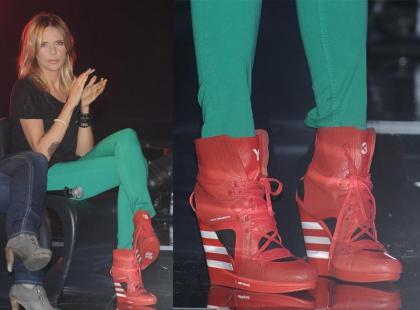 Z szafy gwiazd: buty Mai Sablewskiej
