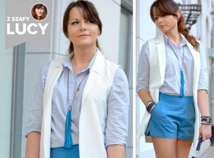 Z szafy Lucy: stylowy look na wakacyjne upały