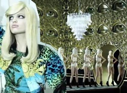 Za kulisami Versace for H&M