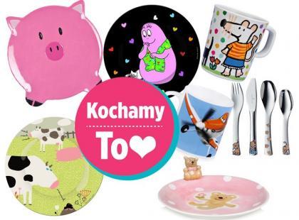 Zabawne naczynia i sztućce dla dzieci